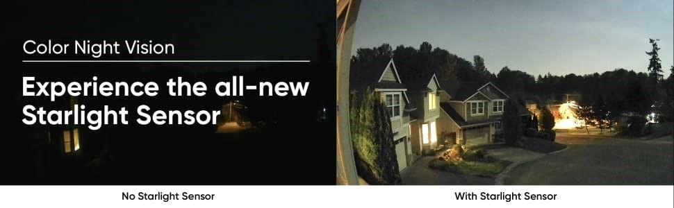 Color Night Vision Indoor/Outdoor Video Camera With Alexa And Google Assistant